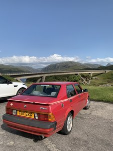1988 Alfa 75 3.0 V6 (MOT July 2020)