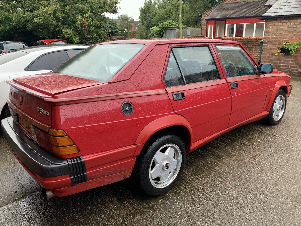 1988 Alfa 75 3.0 V6 (MOT July 2020)  For Sale (picture 3 of 6)