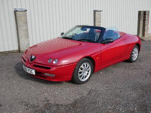 2000 Alfa Romeo Spider T-Spark Lusso SOLD
