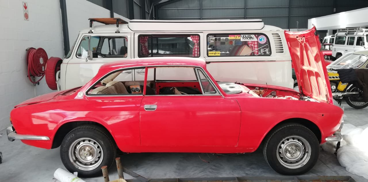 ALFA ROMEO 1970 1750 GTV FABULOUS PROJECT! For Sale (picture 1 of 6)