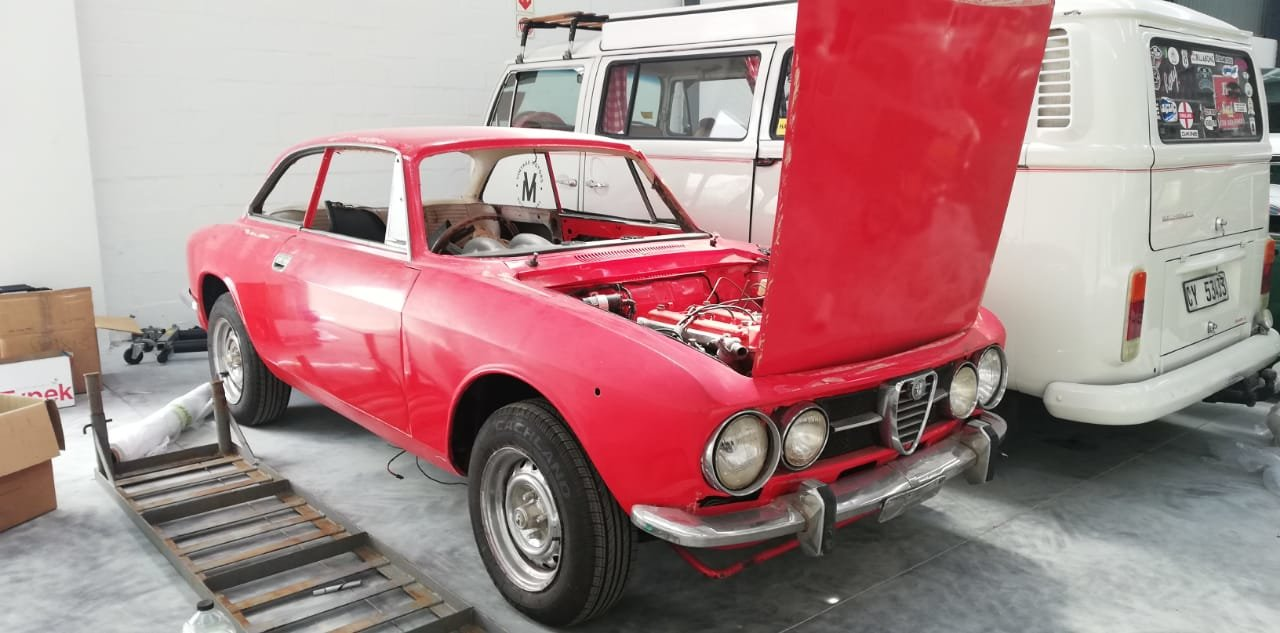 ALFA ROMEO 1970 1750 GTV FABULOUS PROJECT! For Sale (picture 5 of 6)