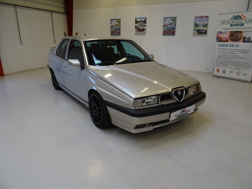 1996 Alfa Romeo 155 Q4 Turbo, four-wheel drive For Sale (picture 1 of 6)