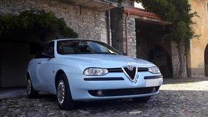 1998 Alfa Romeo 156 baby blue,1 hand. As new.