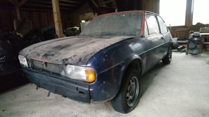Alfasud ti 1,2 First serie Restoration project