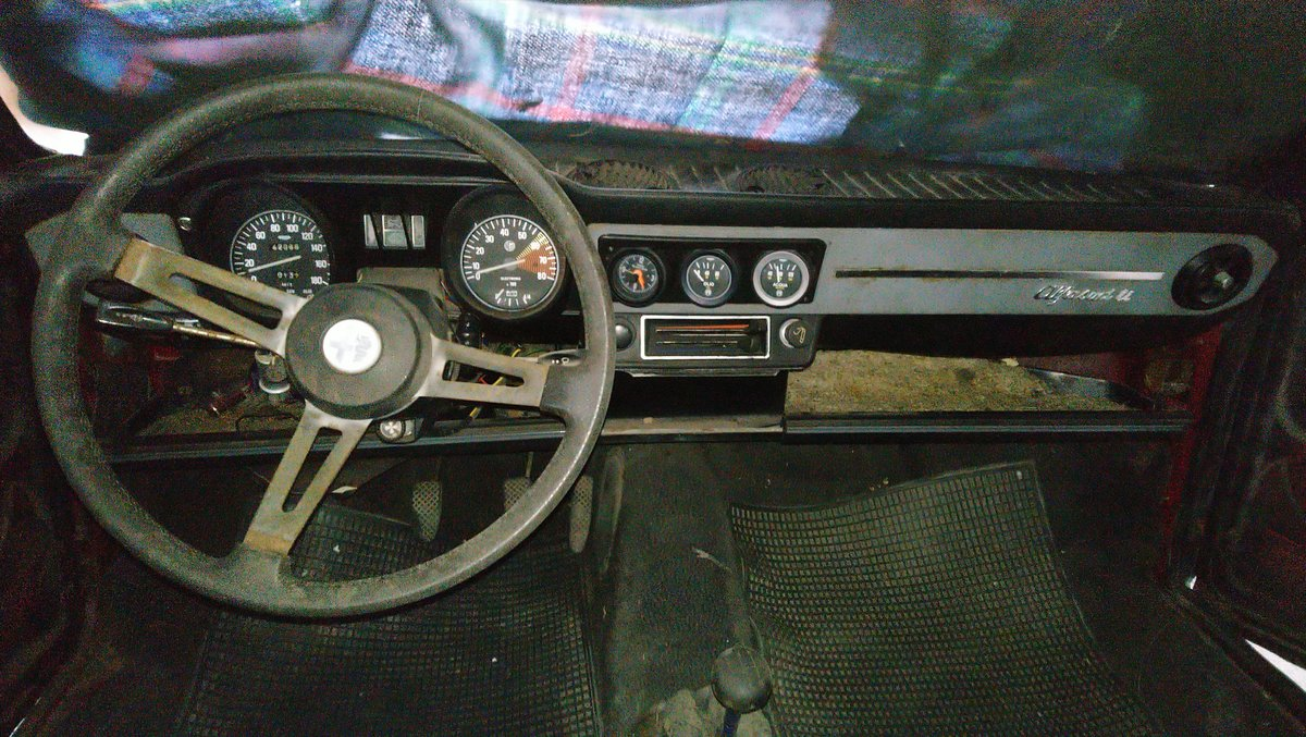 1975 Alfasud ti 1,2 First serie Restoration project For Sale (picture 3 of 6)