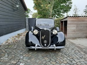 Alfa Romeo 6C 2500 with very interesting history