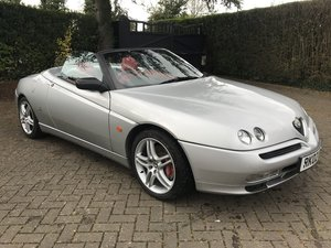 2002 ALFA ROMEO SPIDER 3.0 V6 24V RARE CAR+LOW MILES