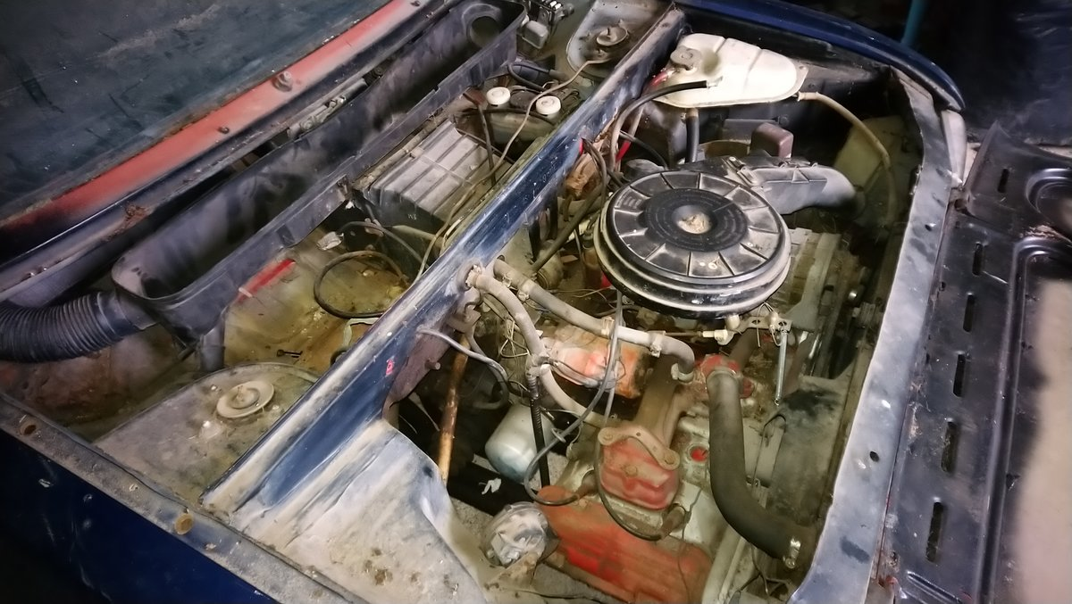 1975 Alfasud ti 1,2 First serie Restoration project For Sale (picture 6 of 6)