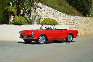 1960 - ALFA ROMEO 2000 SPIDER TOURING  For Sale by Auction