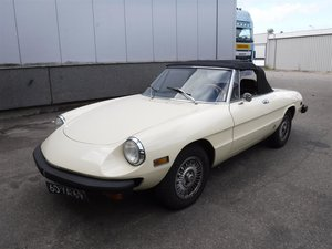 1977 Alfa Romeo Spider Veloce '77 For Sale