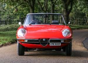 1975  Alfa Romeo 2000 Spider Veloce SOLD by Auction