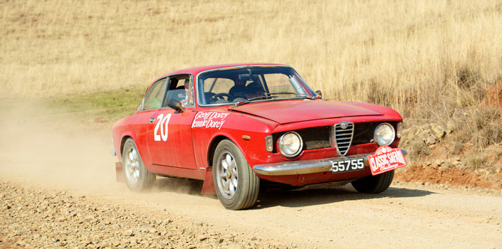 1966 Giulia Sprint GTV endurance rally car For Sale (picture 1 of 6)