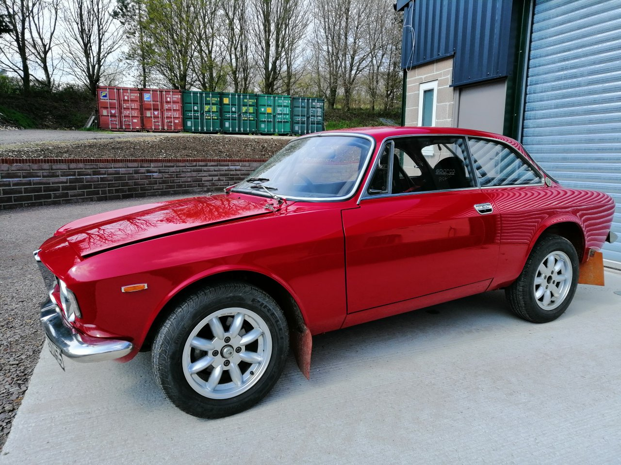 1966 Giulia Sprint GTV endurance rally car For Sale (picture 2 of 6)