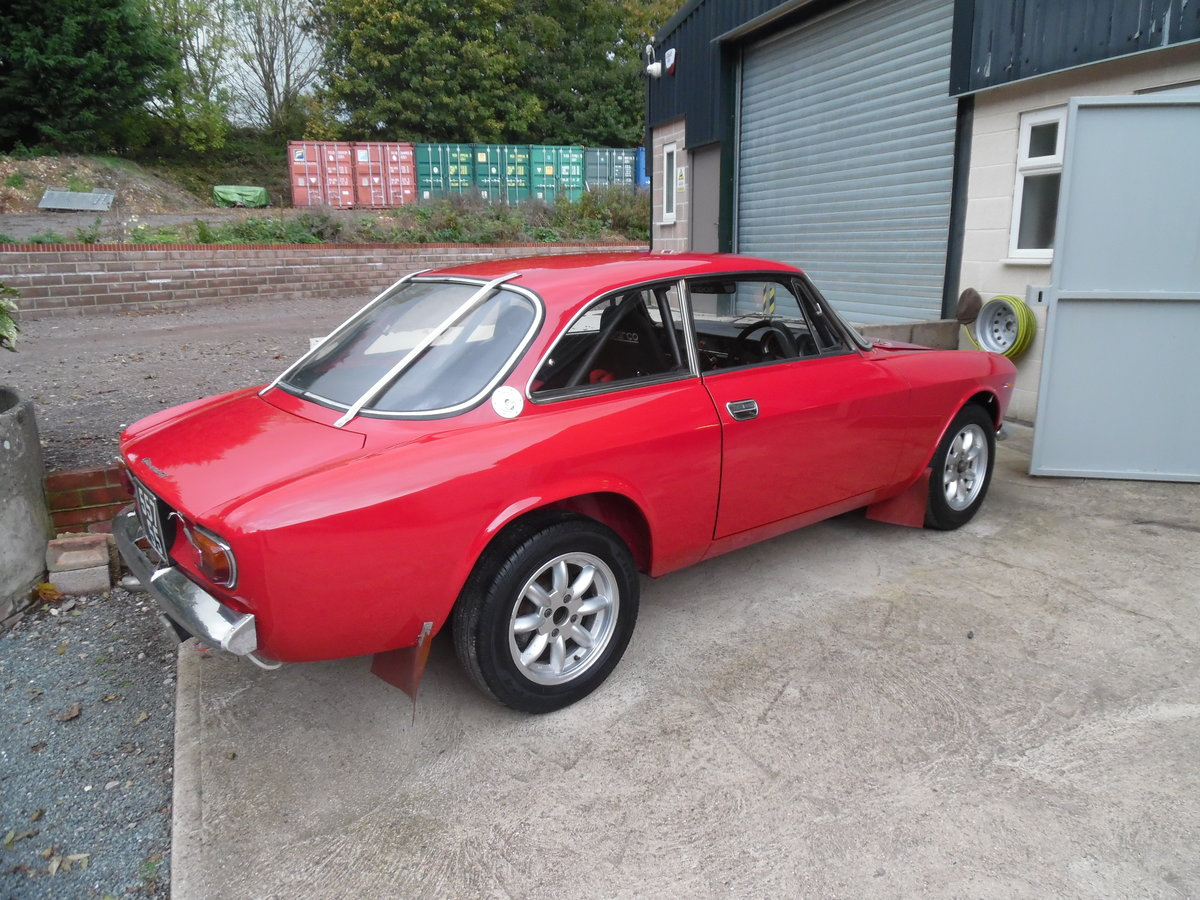 1966 Giulia Sprint GTV endurance rally car For Sale (picture 3 of 6)