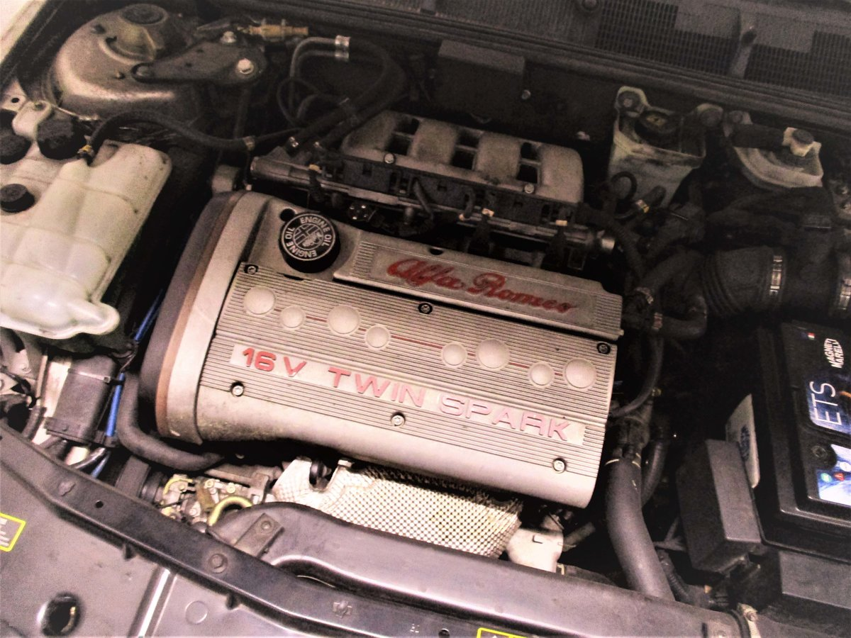 1996 Beautiful Alfa Romeo 155 2.0 16V Sport T. S.  For Sale (picture 3 of 6)