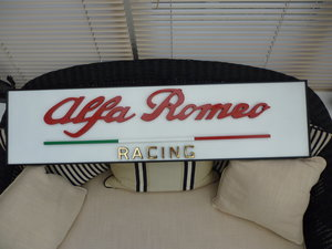 Alfa Romeo Racing 3D Sign For Sale