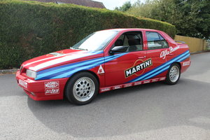 1992 Alfa Romeo 155 Q4 in original Touring car Livery. For Sale