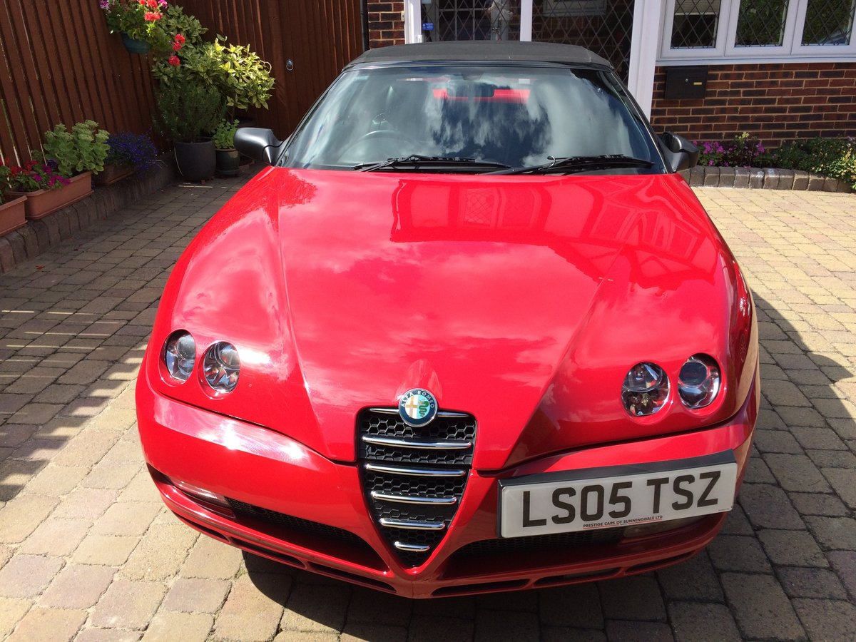 2005 Alfa Romeo spider  For Sale (picture 5 of 6)