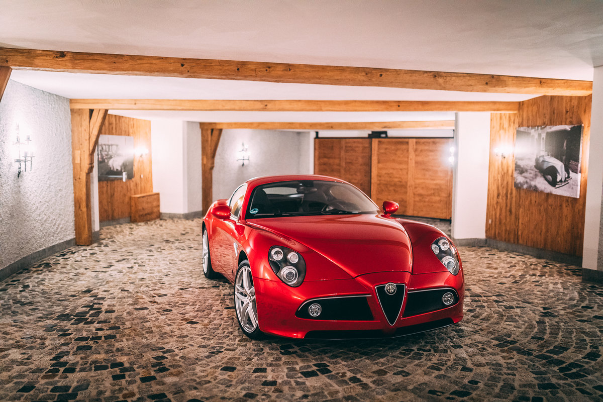 ** SOLD ** 2009 Alfa Romeo 8C Competizione  For Sale (picture 1 of 6)
