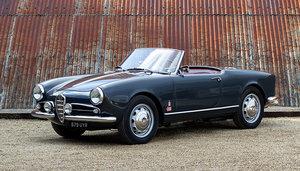 1956 Alfa Romeo Giulietta Spider For Sale