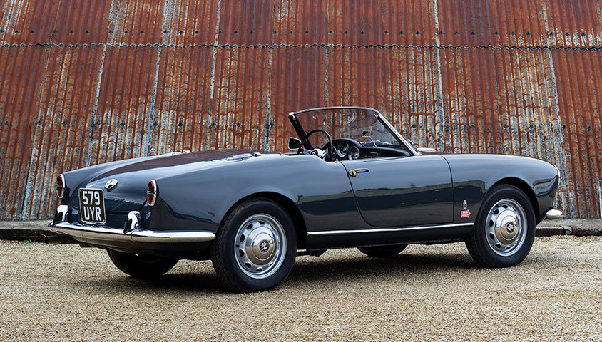 1956 Alfa Romeo Giulietta Spider For Sale (picture 3 of 6)
