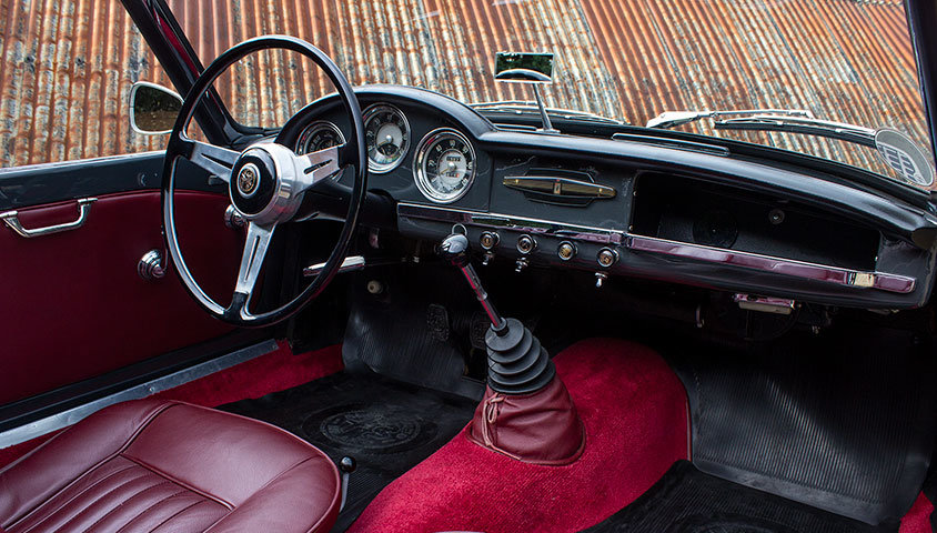 1956 Alfa Romeo Giulietta Spider For Sale (picture 4 of 6)