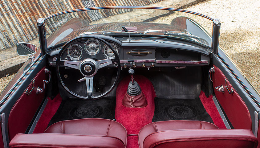1956 Alfa Romeo Giulietta Spider For Sale (picture 5 of 6)