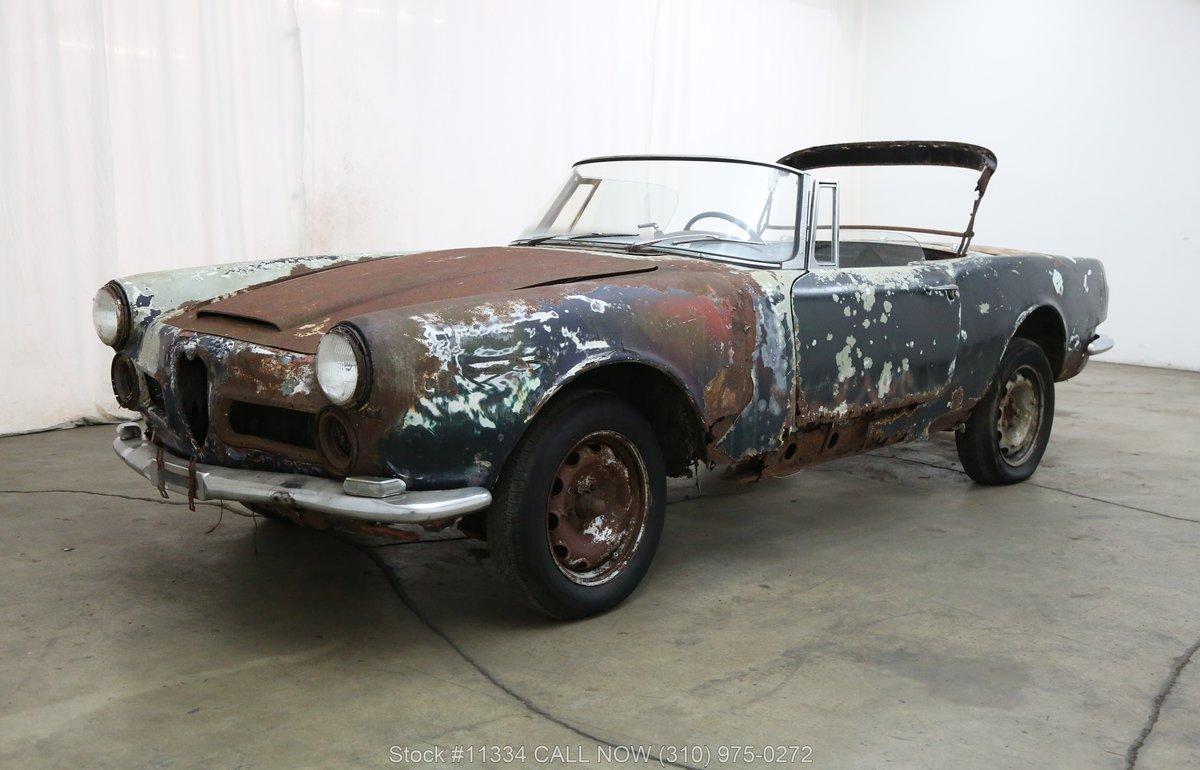 1963 Alfa Romeo 2600 Spider For Sale (picture 3 of 6)