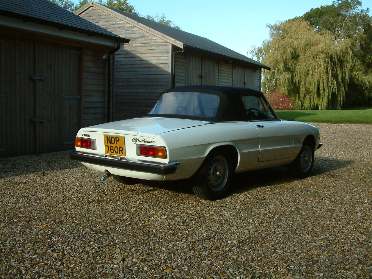 1976 Alfa Romeo Spider Veloce 2000 -  Lovely Cabriolet For Sale by Auction (picture 6 of 6)