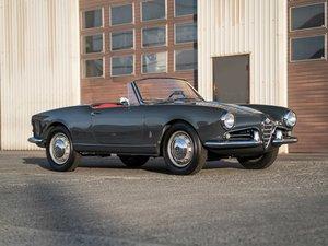 1960 Alfa Romeo Giulietta Spider Veloce by Pinin Farina