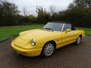 1993 ALFA ROMEO SPIDER 2.0 For Sale