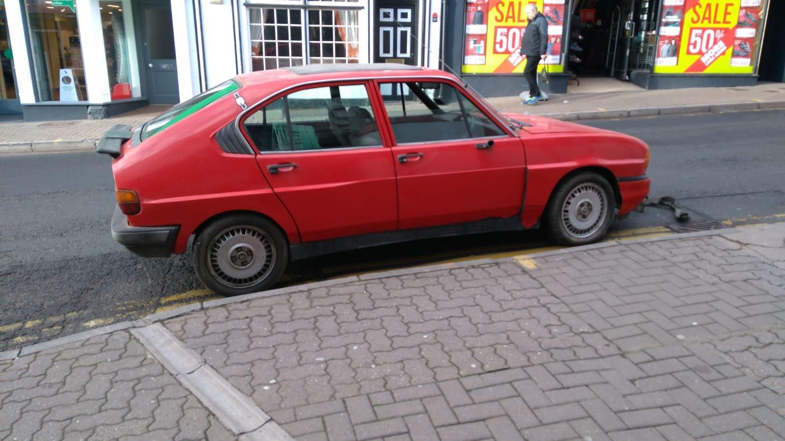 1983 Alfa Romeo Alfasud project For Sale (picture 3 of 3)
