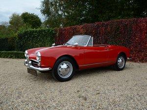 1960 Alfa Romeo Giulietta 1300 Spider restored condition For Sale