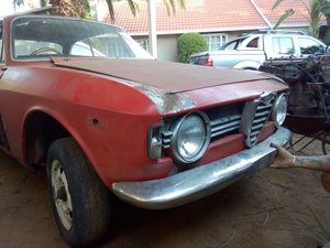 ALFA ROMEO SPRINT GT VELOCE 1967 RHD - SUPER PROJECT! For Sale