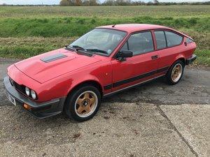1984 Alfa Romeo Alfetta GTV6 2.5 For Sale