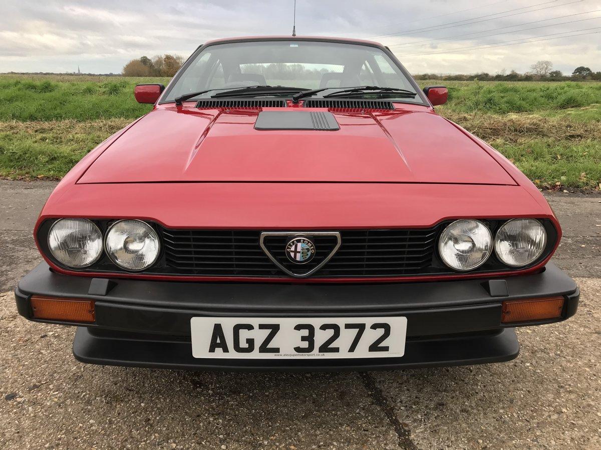 1984 Alfa Romeo Alfetta GTV6 3.0 For Sale (picture 2 of 6)