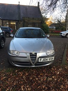 2003 MUCH LOVED!! 2004 ALFA 147 2.0 T.SPARK LUSSO 5DR