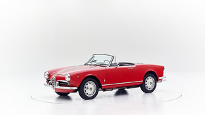 1960 ALFA ROMEO GIULIETTA SPIDER VELOCE For Sale by Auction