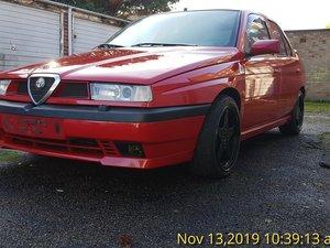 1998 Alfa Romeo 155 V6 Special Edition left hand drive