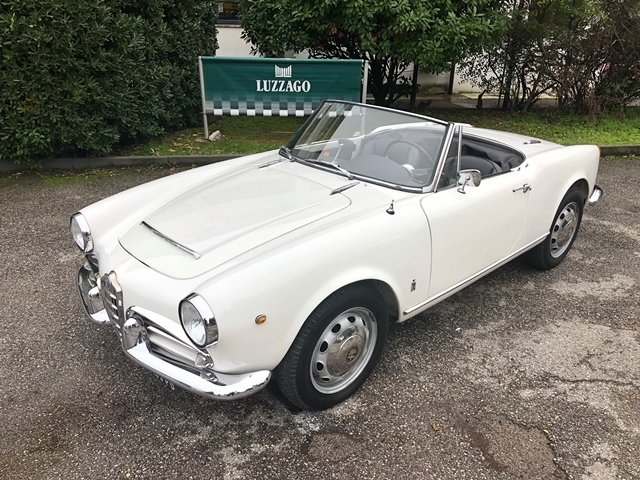 1964 ALFA ROMEO - GIULIA SPIDER S3 DISC BRAKE VERSION For Sale (picture 1 of 6)