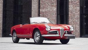 1957 Alfa Romeo Giulietta Spider 04 Dec 2019 For Sale by Auction