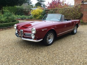 1964 Alfa Romeo 2600 Spider by Touring For Sale
