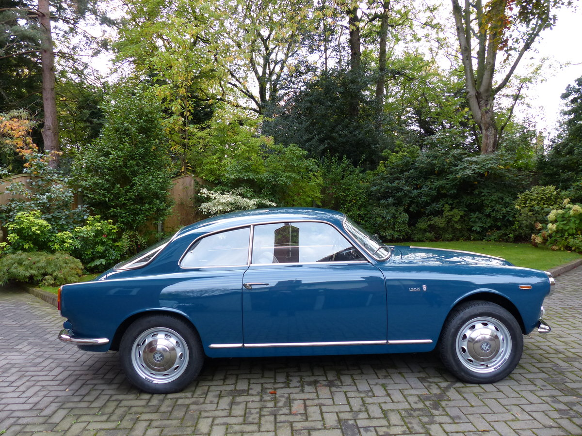 1964 Alfa Giulietta Sprint 1300 Coupe LHD £48,950 For Sale (picture 1 of 6)