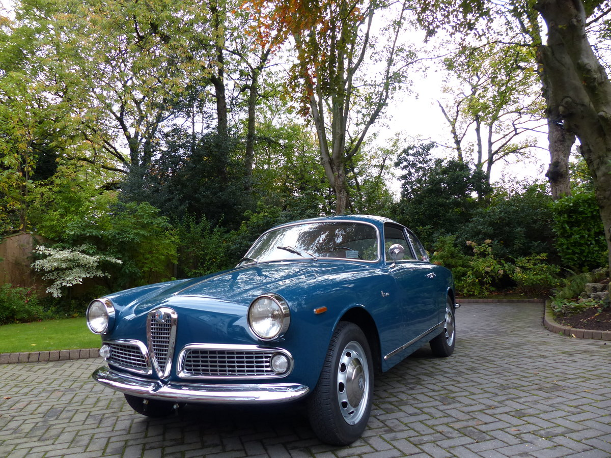 1964 Alfa Giulietta Sprint 1300 Coupe LHD £48,950 For Sale (picture 3 of 6)
