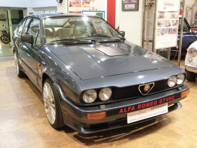 1986 ALFA ROMEO GTV6 2.5 - ENGINE ALFA 3000 AMERICA 6C For Sale (picture 1 of 6)