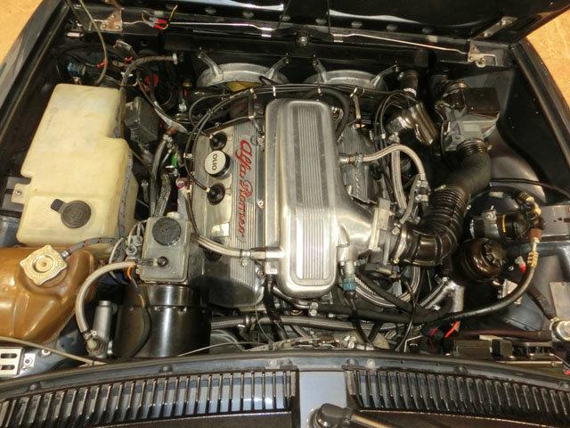 1986 ALFA ROMEO GTV6 2.5 - ENGINE ALFA 3000 AMERICA 6C For Sale (picture 6 of 6)