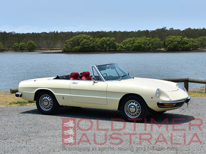 1971 Alfa Romeo Spider 1750 Veloce  For Sale