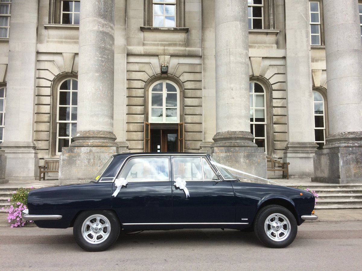 1972 Alfa Romeo Berlina wedding car hire For Hire (picture 2 of 6)