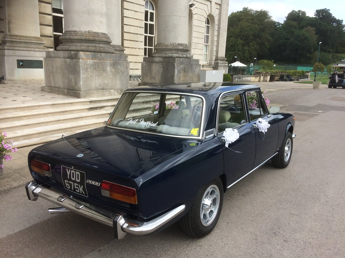 1972 Alfa Romeo Berlina wedding car hire For Hire (picture 3 of 6)