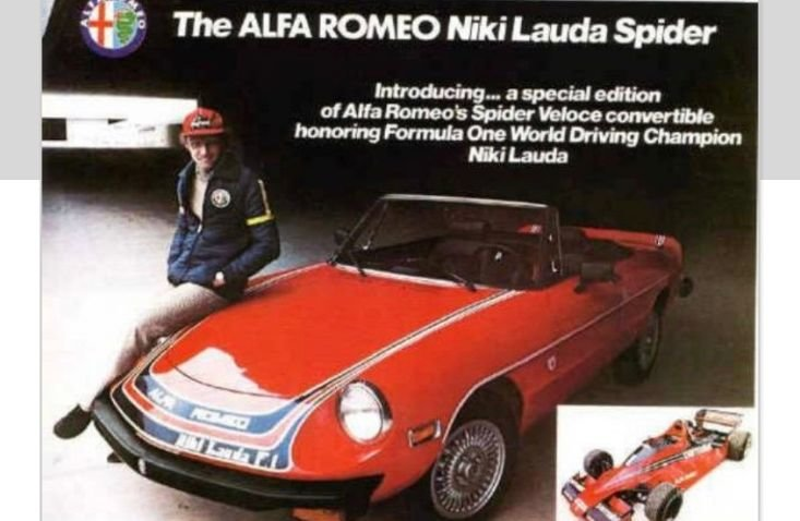 """ALFA. ROMEO """"NIKI LAUDA  LTD EDITION"""" 1978. For Sale (picture 1 of 6)"""